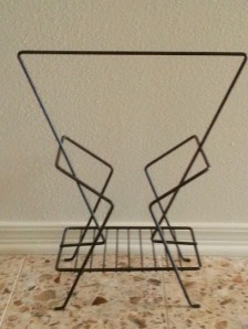 Atomic Magazine Rack